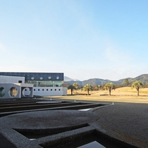 新たなゴルフリゾートの幕開けを感じさせる施設全景。