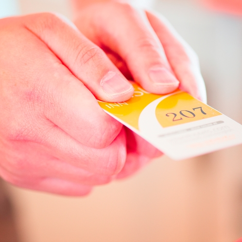 ◆客室カードキー◆