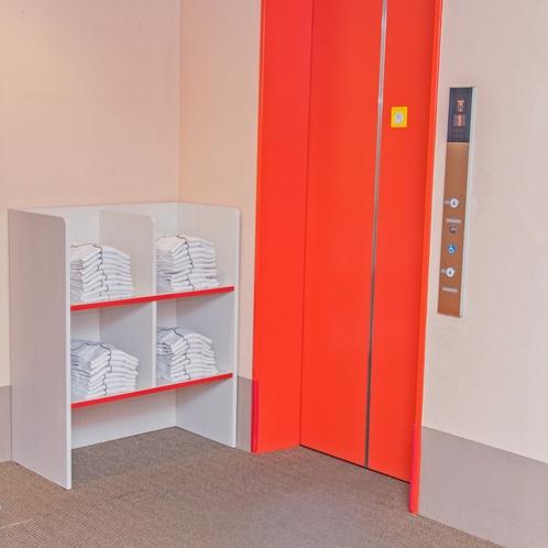 ◆ナイトウェア◆ 無料貸出品です。各階エレベーター横にご用意しています。