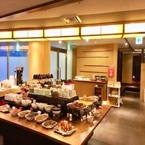【朝食】会場内の様子