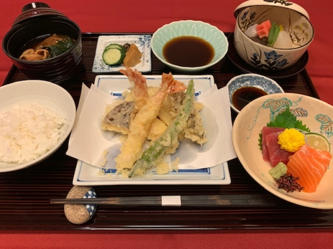 1泊2食プラン(夕食天麩羅御膳)
