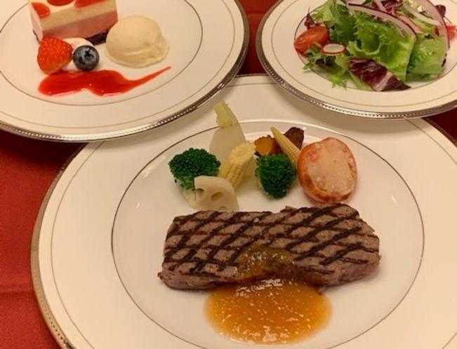 1泊2食プラン(ステーキコース)