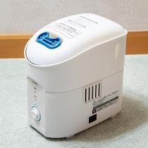 *【貸出アメニティ】加湿器の利用をご希望の方はフロントまでお声かけください。