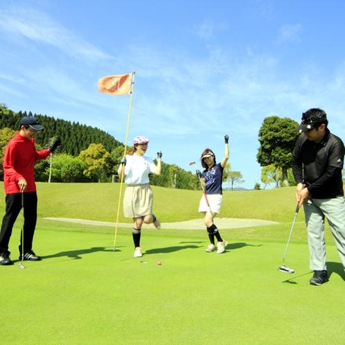 ゴルフ(イメージ)/広大な緑が広がるゴルフコース。リピーターの方も多くご利用いただいております♪