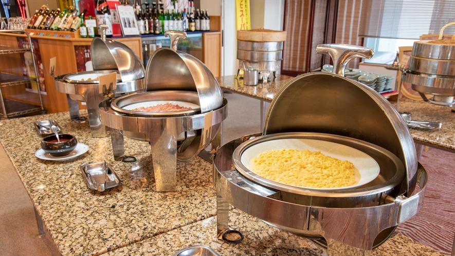 *【朝食バイキング】ご飯派のあなたもパン派のあなたも!豊富なメニューの朝食をお楽しみください。