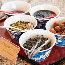 *【朝食バイキング】朝はご飯派の方に人気のご飯のお供。朝からご飯が進みます。