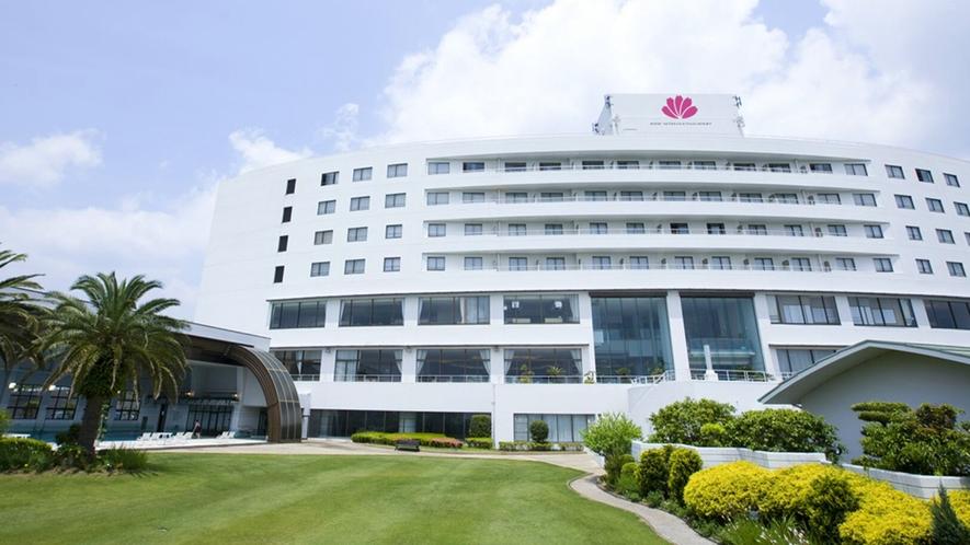 *【外観】 鵜戸神宮や日南海岸から車で30分!宮崎の海も山も楽しむならホテル日南北郷リゾート へ!