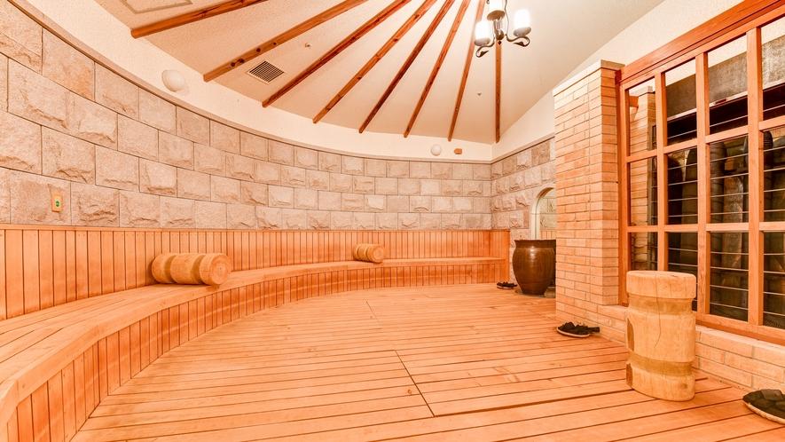 *【岩盤浴】汗蒸幕(ハンジュンマク)。身体の芯から温まり、デトックス効果大です。