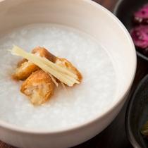 朝食イメージ 中華粥