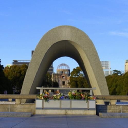 【平和記念公園】慰霊碑