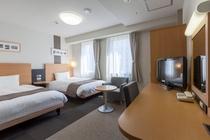 ◆ツインルーム◆広さ21㎡◆ベッド幅123cm◆