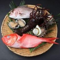 伊豆の新鮮な魚介類を御仕度致します
