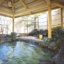 ・【姫の湯】女性露天風呂
