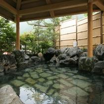 【姫の湯】女性露天風呂