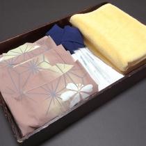 お部屋に浴衣・バスタオル等をご用意しております。