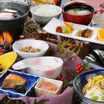 ・【朝食】しっかりと食べて出発のご準備を