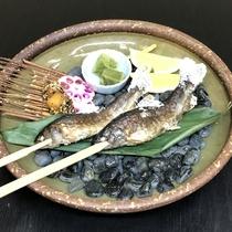 【特別注文料理】岩魚の塩焼き(料金1尾:1,500円税込)