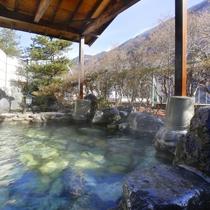 ・【殿の湯】男性露天風呂