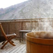 【温泉露天風呂付き和洋室 ひうち】プライベート空間で、贅沢な休日をお過ごし頂けます。