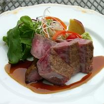 *<別注料理>黒毛和牛リブロースステーキ/宿泊日の4日前までにご予約くださいませ。