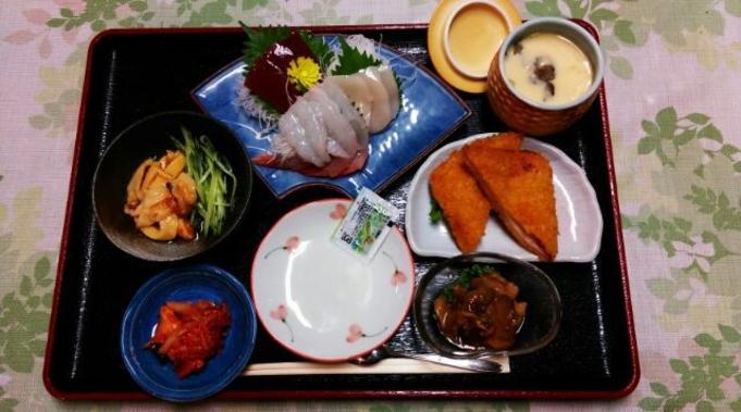 夕食付き 大満足ボリューム 釜石 お袋の味プラン