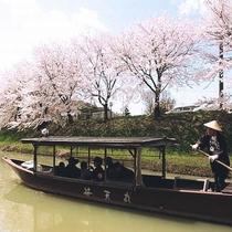 ◆城下町 大聖寺川流し舟