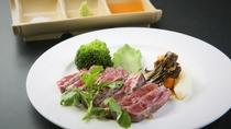 【別注料理:牛ヒレステーキ60g】塩コショウ又はステーキソースでお召し上がりいただけます※イメージ