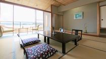 【和室】のんびりとお寛ぎいただける和室ではバルコニーから湖畔情緒をご堪能いただけます※イメージ