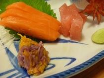 秋のお料理【菊】をどうぞ