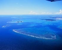 浜比嘉島周辺の海