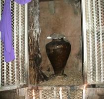 シルミチューの中に祭られている壺