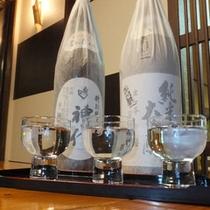 *呑み比べプランイメージ/秋田の地酒『秀よし』三種の旨さの違いをお楽しみください。