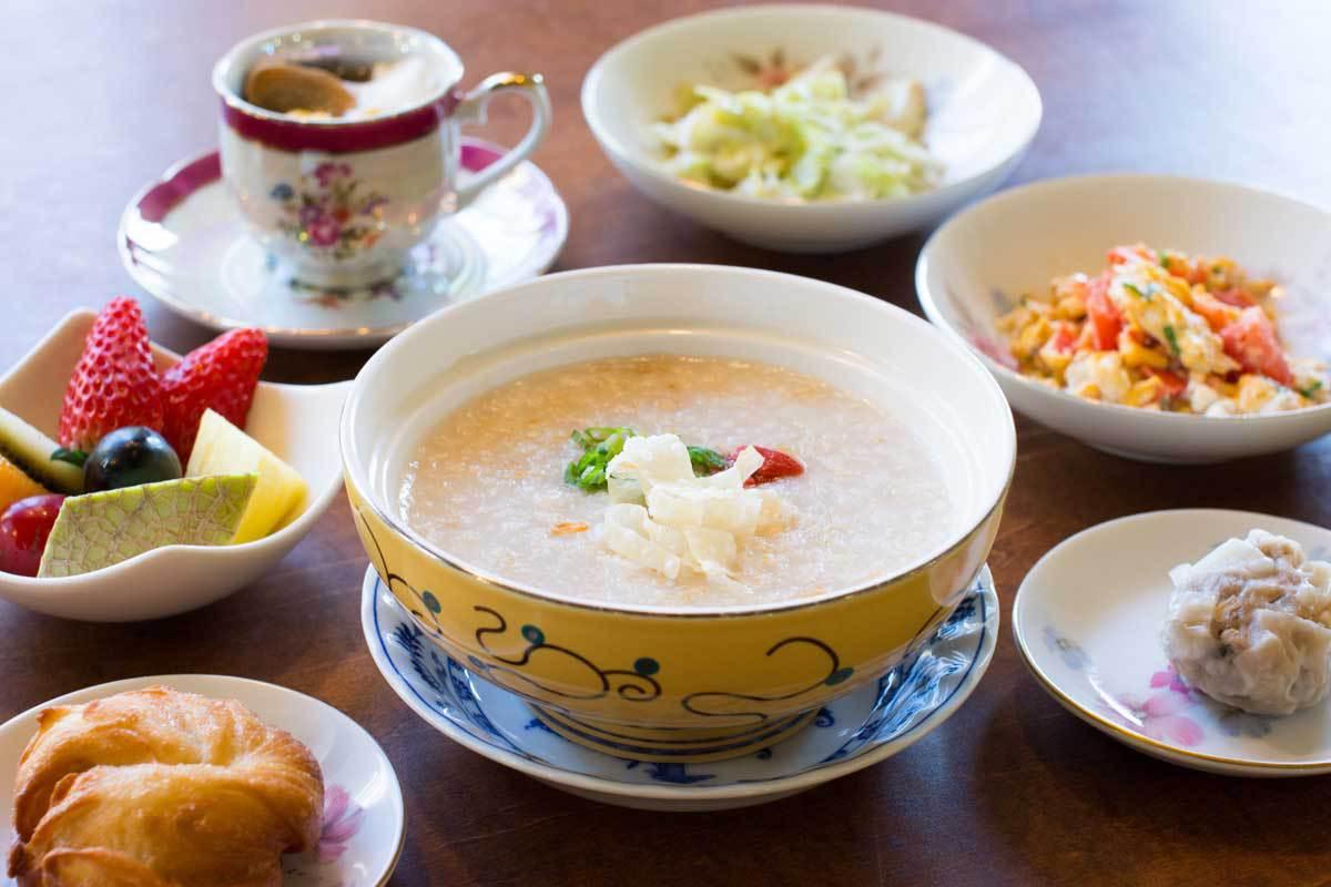 朝食の中国粥