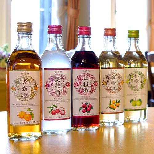 山?酒・杏露酒など果実酒のご用意もございます!