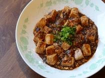 3年熟成豆板醤の四川風麻婆豆腐