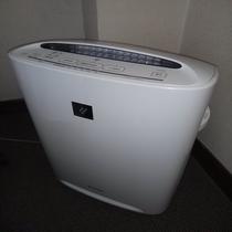 本館全客室に空気加湿清浄機設置