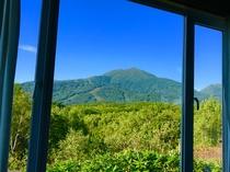 談話室窓からの風景☆