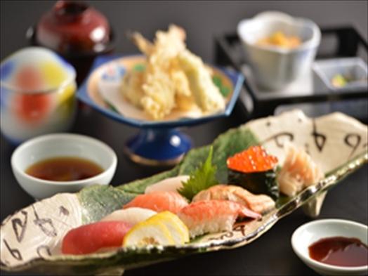 【全席個室レストラン】握り寿司御膳付プラン【2食付】