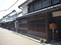 伝統的建造物群保存地区 今井町の町並み