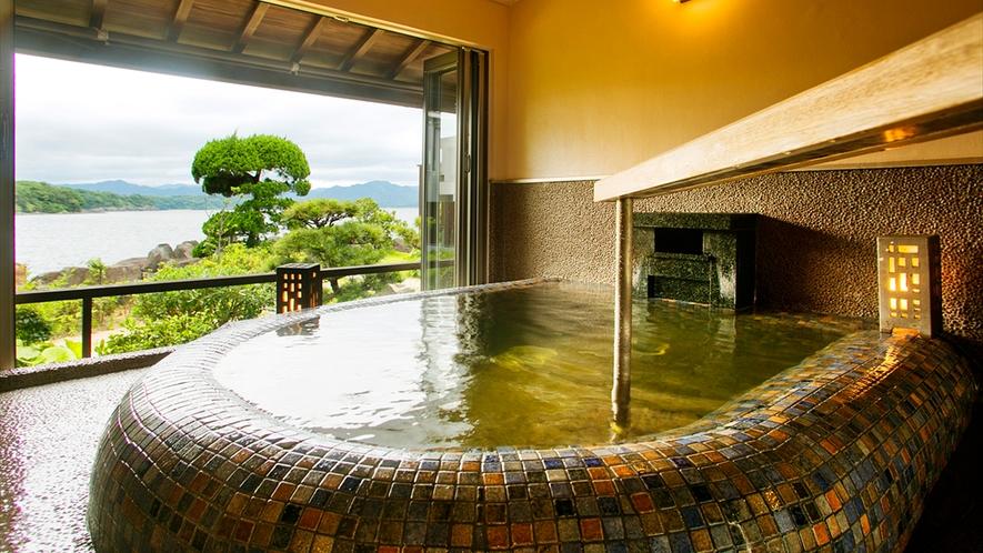 ■萩温泉・客室風呂