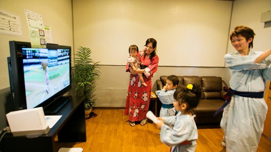 テレビゲームルーム☆お子様に大人気♪