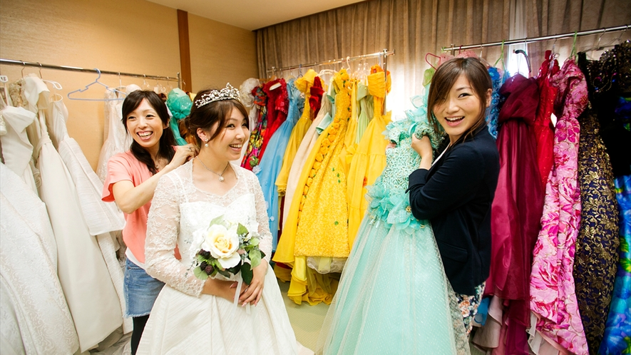 ■貸出ドレス