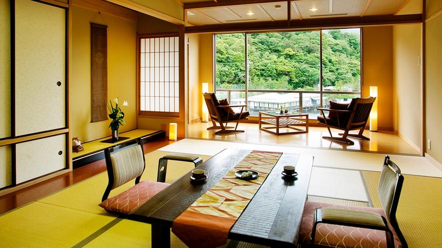 デザイナーズルーム露天風呂付和室■特別室【悠久の町】