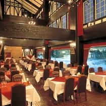 【レストラン・エーデルワイス・新館2F】ビーフステーキ、スパゲティーなど洋食メインのバイキング