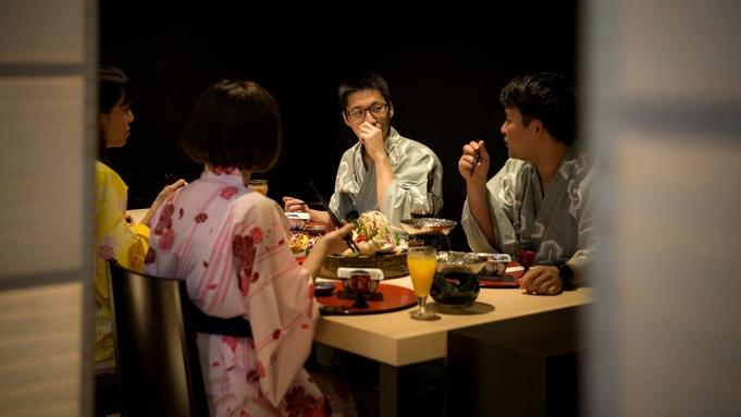 【メイン2品チョイス会席】■プラン選びに迷ったらコレ!あなたの個性で、1人づつ自由に選んで食べ比べ♪