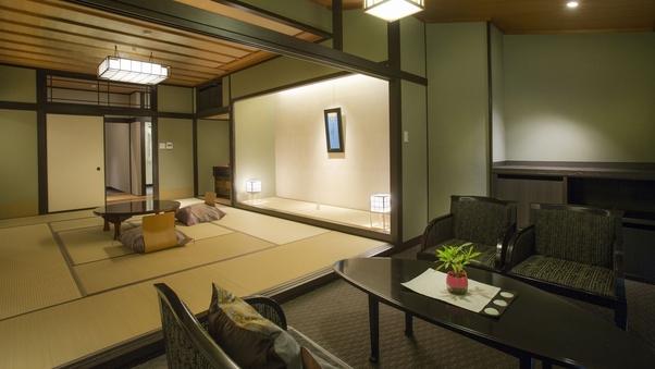 ◆趣き異なる全6室【和モダン禁煙室 五彩の間】シャワルーム付