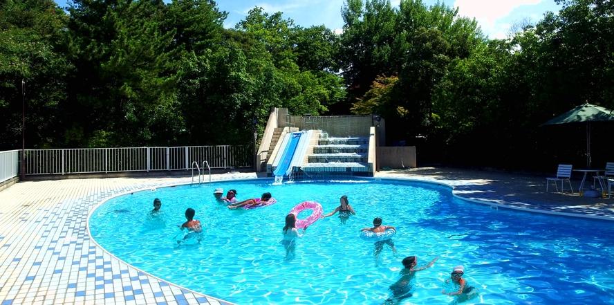 ★7/17~8/31夏季限定「屋外ガーデンプール」プールからのロケーションも自慢