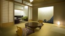 【天然温泉100%露天風呂付き和洋デラックス・禁煙】679号室(