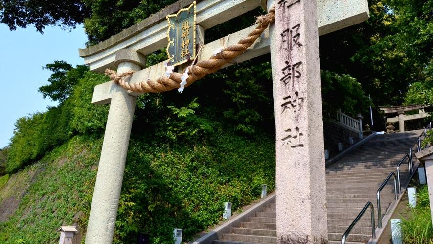 【服部神社】山代温泉の初詣スポット、夏には、山代大田楽のイベントの舞台にも