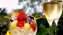 ★フルーツorホールケーキの特典付♪スパークリングワインも進呈